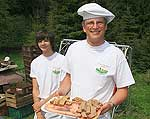 Holzbackofen: Bäckerei Sauer